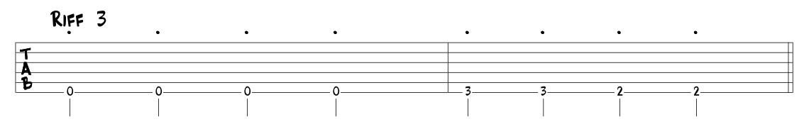 Gitarrenunterricht Freiburg-Riff3